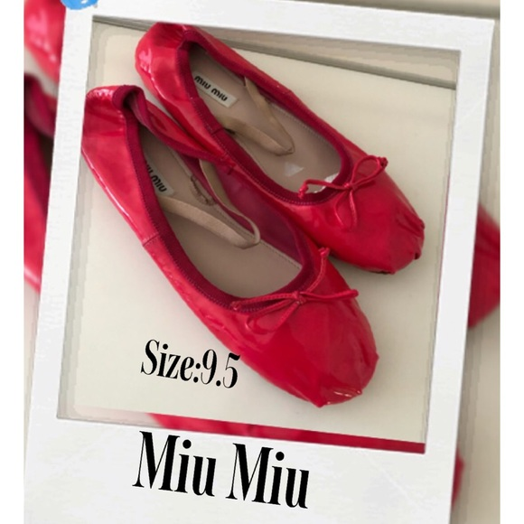 0f382ac44c0aa ... Miu Patent Ballerina Flats. M_5c4537797386bcd3bfb8c7f3. Other Shoes ...